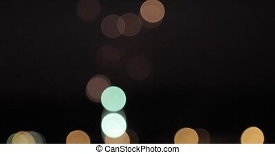 firework bokeh abstract blurred background.