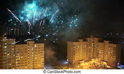 firework, closeup, feiertage