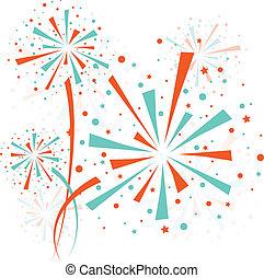 Firework color