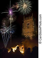 Firework Dispay - November 5th - England