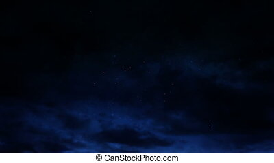 Beautiful firework display at night 4k