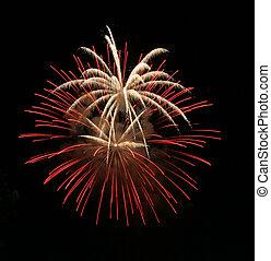 firework, esplosivo, mostra