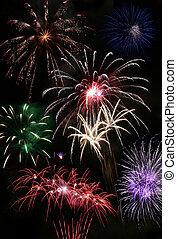 firework, finale
