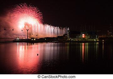 Firework In Portugal