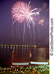 Firework- Phnom Penh, Cambodia