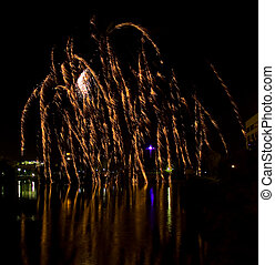 Firework Reflections 2