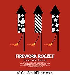 Firework Rocket.