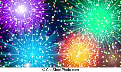 Firework, Seamless Loop
