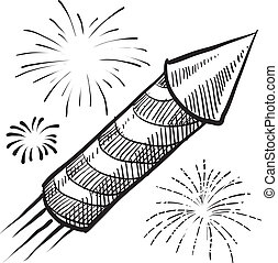 Firework sketch