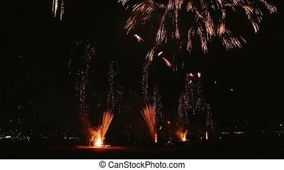 firework, textanzeige