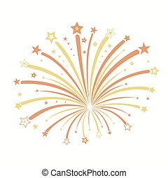 Firework vector illustration
