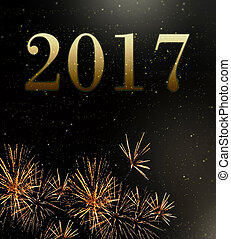 fireworks 2017 new year