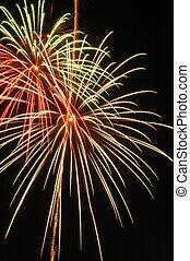 Fireworks 3 - Canada Day celebration, 4th July