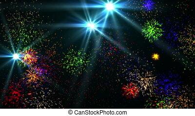 fireworks 4k