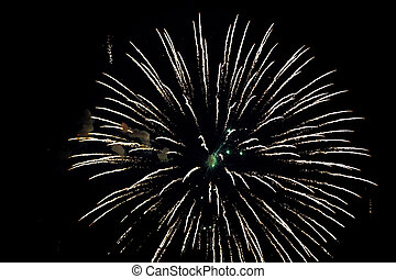 Fireworks Background Christmas