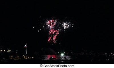 Fireworks - Canada Day 2011 - Canada Day fireworks on...