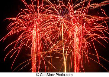 Fireworks Dazzling