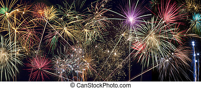 Fireworks Display- website header panel