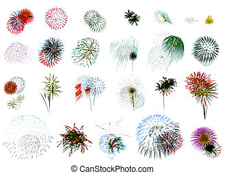 "Fireworks Extravaganza 2 - ""25 individual fireworks ..."