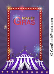 fireworks., fun., carnaval, vetorial, modelo, feriado, barraca