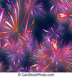 fireworks illustration