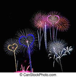 fireworks.
