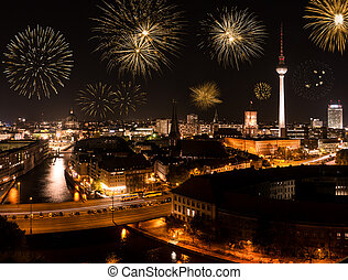 fireworks in berlin