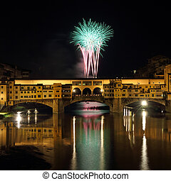 Fireworks in Italy