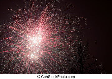 Fireworks in the Netherlands