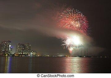 Fireworks in Toronto, ON