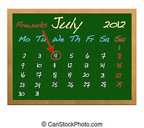July 4.