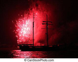 Fireworks Sailing 2