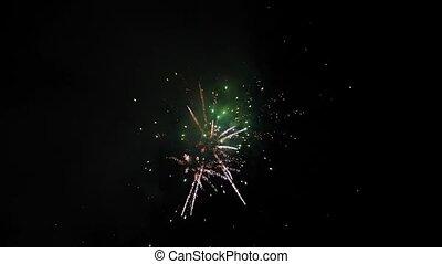Fireworks show at national celebration