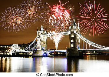 fireworks, sopra, ponticello torretta