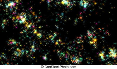 fireworks sparks particle color
