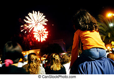 fireworks, visa