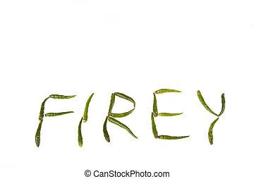 firey, chiles, verde