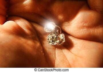 Firey gems
