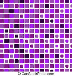firkantet, mosaik, baggrund, violet