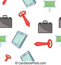 Firm pattern, cartoon style