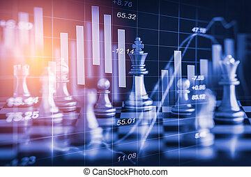 firma, boldspil, på, digitale, aktie markedsfør, finansielle, og, chess, baggrund., digital branche, og, aktie markedsfør, finansielle, på, led., dobbel eksponering, chess, strategi branche, og, digitale, aktie markedsfør, financial.