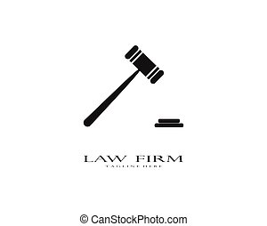 firma, ley, logotipo, vector