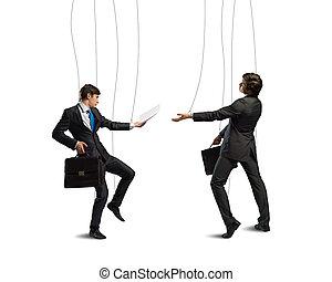 firma, puppets