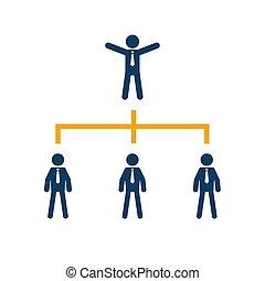firma, selskab, træ, kort, organisation, corporate.