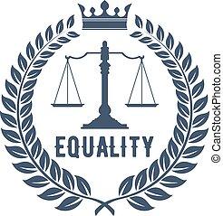 firma, sprawiedliwość, symbol, prawo, skalpy
