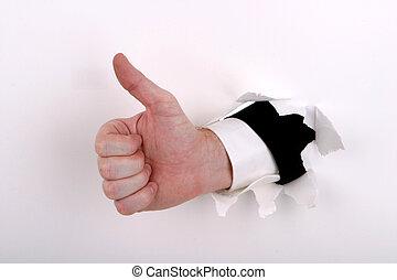 firma, tommelfingre