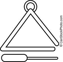 firmanavnet, trekant, udkast, musikalsk begavet, ikon