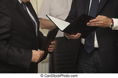 firmare, b, contratto, ufficio, firma