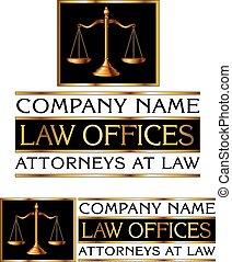 firme, droit & loi, conception