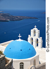 Firostefani church 01 - One of the most famous churches on...